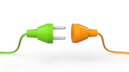 3d plug connection concept