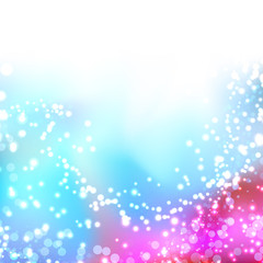 Bright colorful shimmering seasonal background