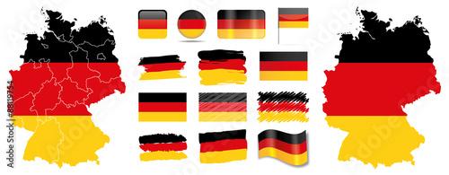 deutschland flagge fahne icon button deutschlandkarte stockfotos und lizenzfreie vektoren auf. Black Bedroom Furniture Sets. Home Design Ideas