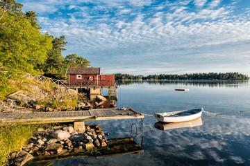 Fototapete - Schären an der schwedischen Küste