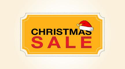 Christmas sale, badge, label