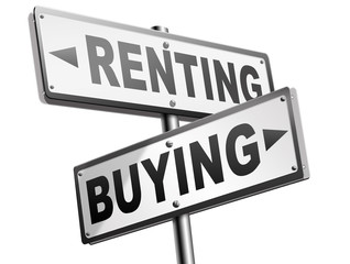 buying or renting house or property