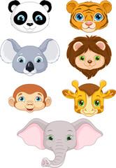 Wild Animal Faces