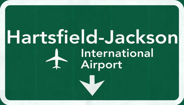 Atlanta Hartsfield Jackson USA International Airport Highway Roa