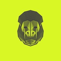 Geometric Lines - Gorilla Design
