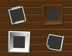 Holzwand Fotos