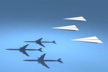 Passenger Paper Plane