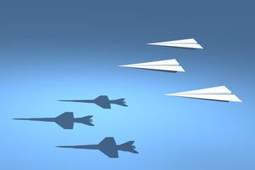 F18 Paper Plane