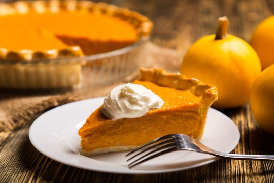 Pumpkin, pie, dessert.