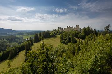 Castle Ruins Hohenfreyberg