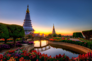 Double Pagoda in Doi Inthanon National Park