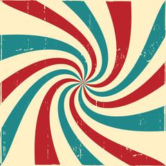 Vintage twisted tricolor background