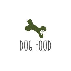 paw in a bone dog food