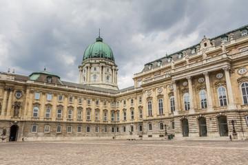 Royal palace or Buda castle in Budapest Hungary