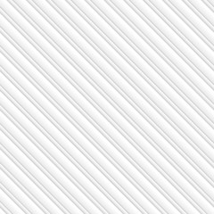 Seamless Pattern with White 3D Stripes.Vector Background