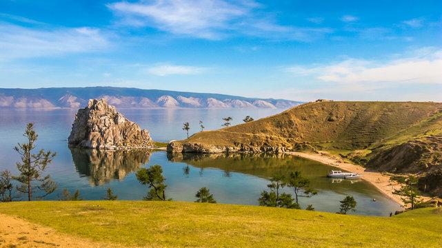 Olkhon island of lake Baikal, Russia