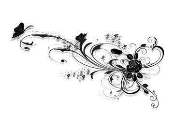 rose en arabesques