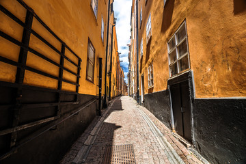 Street of Gamla Stan, Stockholm