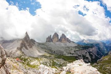 Tre Cime Di Lavaredo South Tyrol Italy