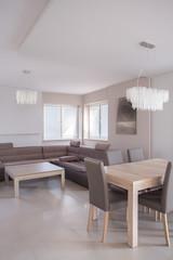 Open-concept modern interior