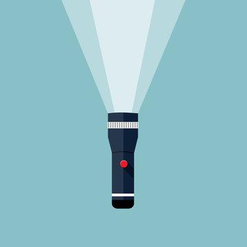 Flashlight illustration.