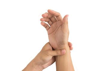 man hand injury