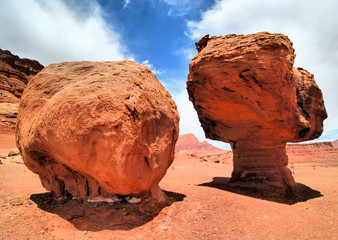 Balanced Rock / balanced rock formations near Marble Canyon Arizona