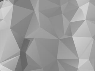 Silver Triangular Background