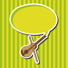 music violin theme elements vector,eps