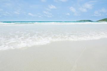 Beautiful beach sea
