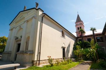 Strugnano Slovenia Chiesa di Santa Maria della Visione