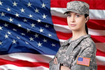 Armed Forces, Military, Female.