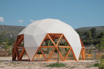 Geodesic dome Wall mural