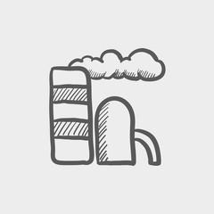 E-station sketch icon