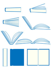 Books Illustration Set