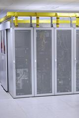 Network  modern server room