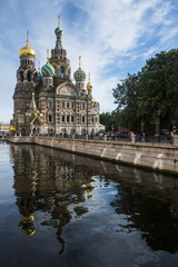 Church of Saviour on Spilled Blood, Saint Petersburg, Russia