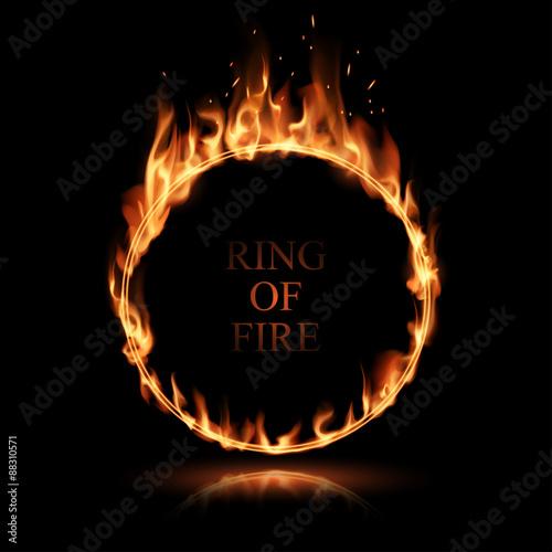 fire ring stockfotos und lizenzfreie vektoren auf bild 88310571. Black Bedroom Furniture Sets. Home Design Ideas