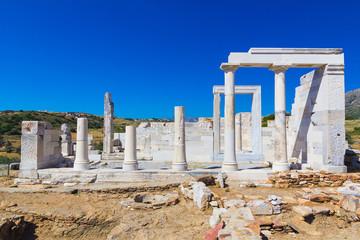 Demeter Temple, Naxos island, Cyclades, Aegean, Greece