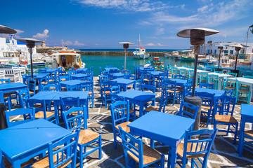..Naoussa town, Paros island, Cyclades, Aegean, Greece
