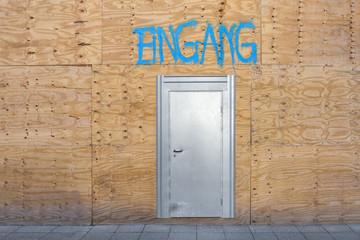 Eingang Tür