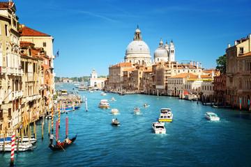 Printed roller blinds Channel Basilica Santa Maria della Salute, Venice, Italy