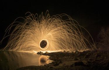 Feuerspinne