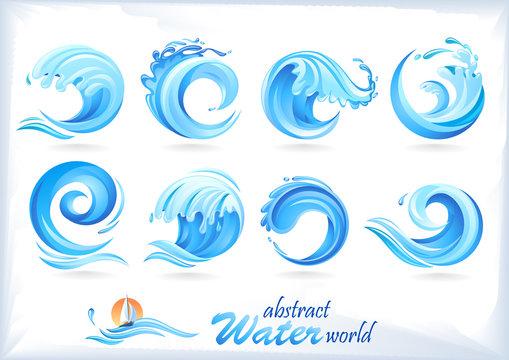 Tidal Waves Icons