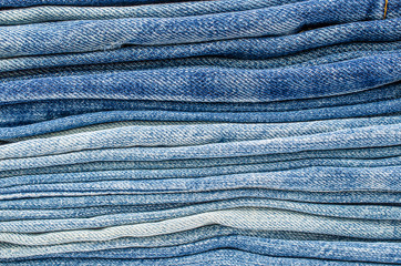 background of blue jeans texture