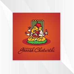 lord ganesha festival concept