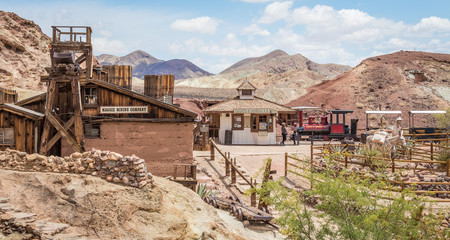 Calico, CA, USA: Calico is a ghost town Wall mural