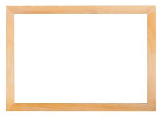 modern simple narrow wooden picture frame