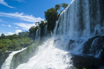 Foz de Iguazu, largest waterfalls, Iguazu National Park, UNESCO World Heritage Site, Argentina, South America