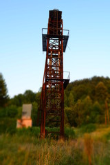 old mining tower makviste